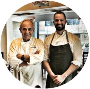 chefs del restaurante locanda paolo