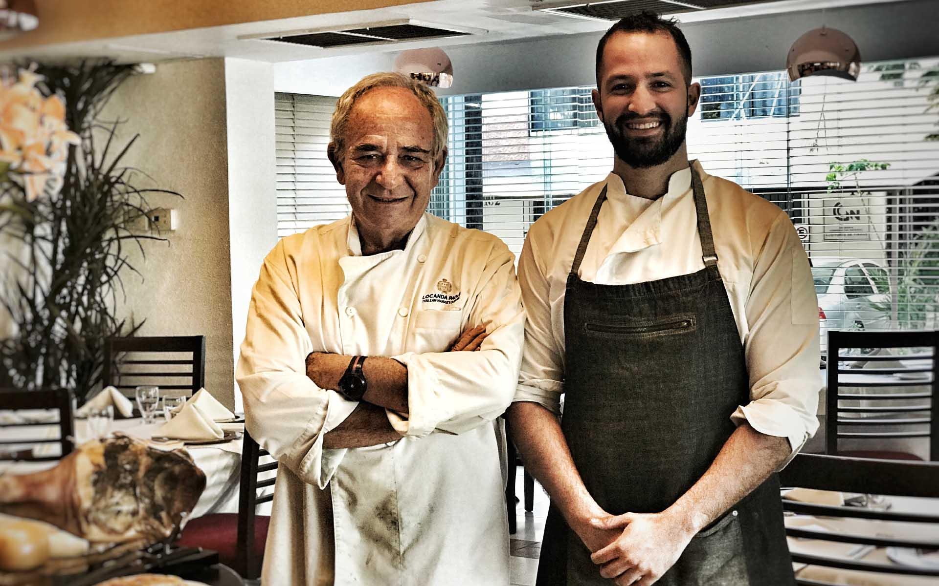 chefs italianos de locanda paolo
